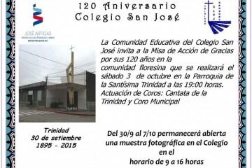Invitación Actos 120 años