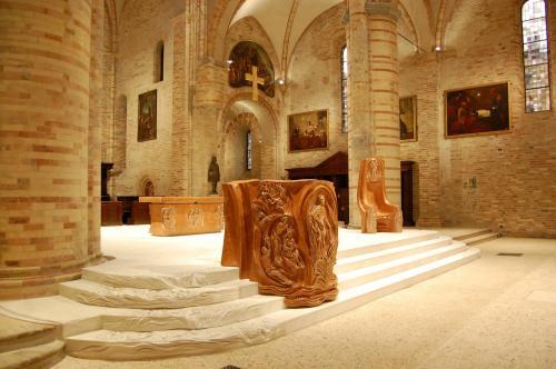 Interior de la Catedral de Crema