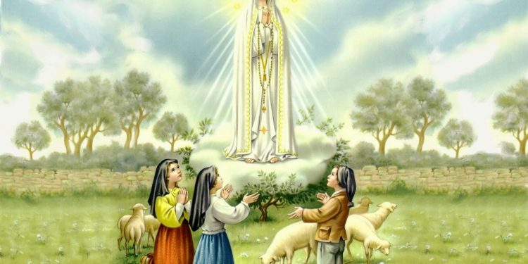 Las apariciones de la Virgen de Fátima a los pastores